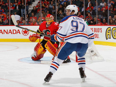 McDavid, Oilers Prove Too Much For Hapless Flames