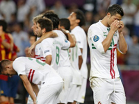 Euro 2012 - Spain moves into the Finals with Ronaldo left waiting