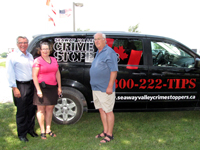 SDG Community Futures Development Corporation Invests $30,000 in Seaway Valley Crime Stoppers