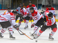 Spencer Watson's shootout goal leads to semi final berth for Team Canada