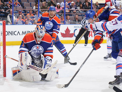 Oilers beat Rangers, send Nurse back to OHL