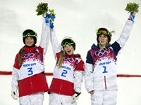 Dufour-Lapointe sisters win gold and silver in Sochi