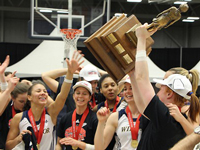 Lancer women win fourth straight national basketball title