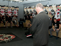 In a classy move by the Ottawa 67's, Kilrea returns behind the bench