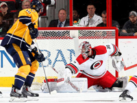 Skinner, Ward help Hurricanes hold off Predators