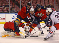 Blue Jackets top Panthers for 10th time in row