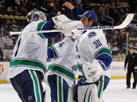 Lack leads Canucks