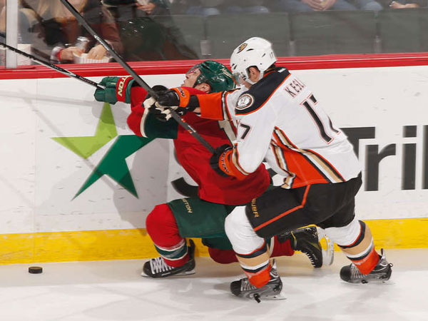Ducks waste three-goal lead but rally past Wild