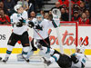 Sharks top Flames for fourth straight win
