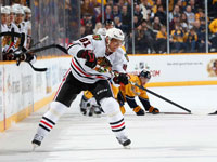 Hossa scores twice in Blackhawks