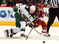 SNAPSHOT - Parise helps push Wild past Coyotes