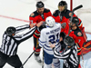 Leafs Get Burned By Flames