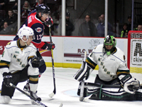 Spits take a 2-1 series lead, with a game winning goal by Vilardi