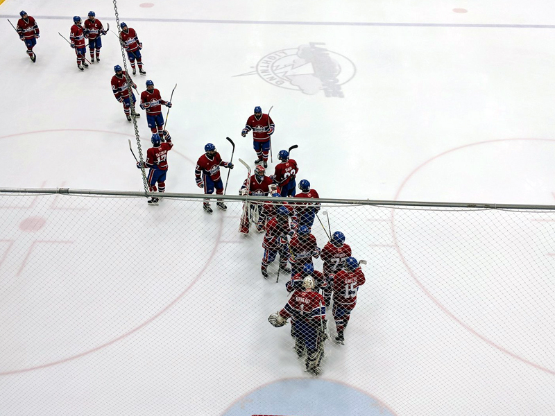 SNAPSHOT - Lakeshore Canadiens take Game One of WC Final