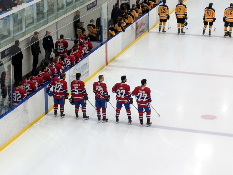 Exeter Hawks shutout Lakeshore Canadiens 2-0 in Game 3