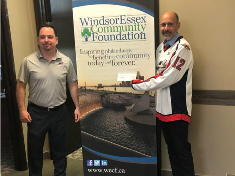 Renaud Family Donate $10,000 to Windsor COVID Relief Fund
