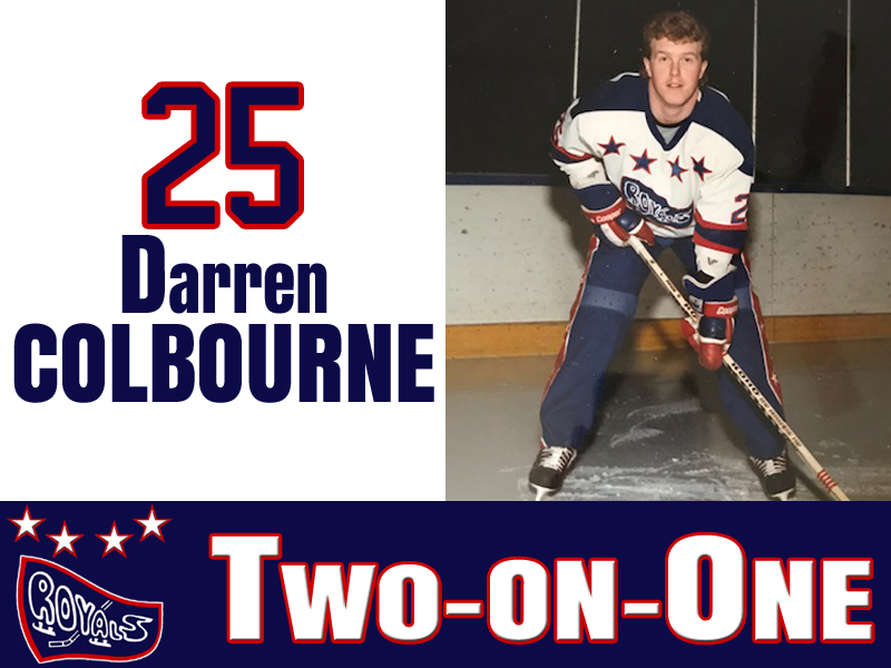 Two-On-One Episode 2: Darren Colbourne