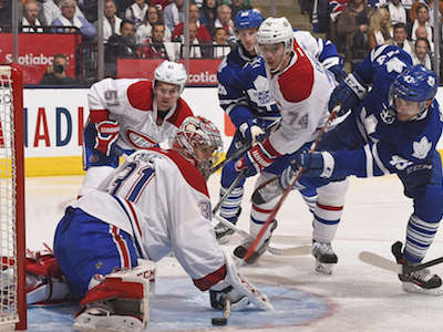 Maple Leafs lose in opener despite playing