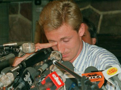 Oilers History: August 9th, 1988 - The Gretzky Trade