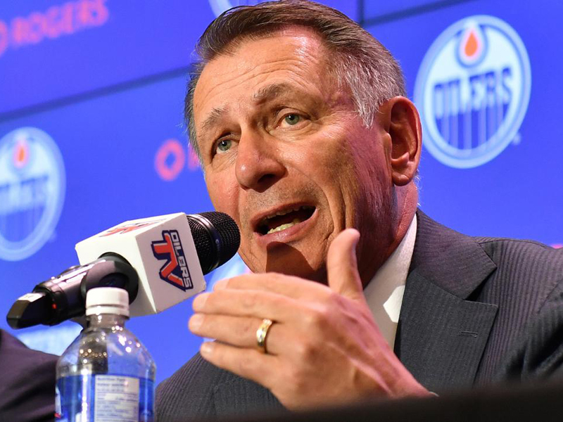 Oilers energized by hiring of Holland as general manager