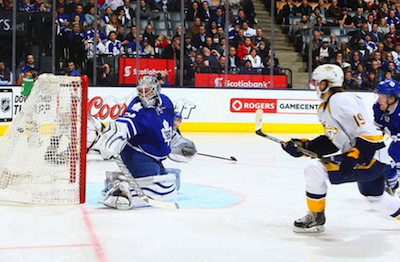Predators thrash Leafs 9-2 in despicable home ice performance