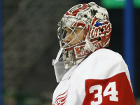 Mrazek to start for Red Wings against Hurricanes