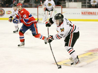 Petan outduels Holmberg as Winterhawks edge Chiefs