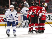 Leafs find a tolerable way to lose to the Senators