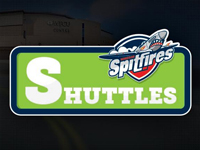 Spits fans encouraged to take shuttle on Sunday