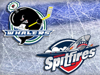 Spits move into playoff picture with win over Whalers